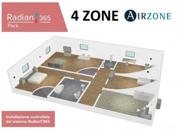 AIRZONE PACK RADIANT 365 A 4 ZONE