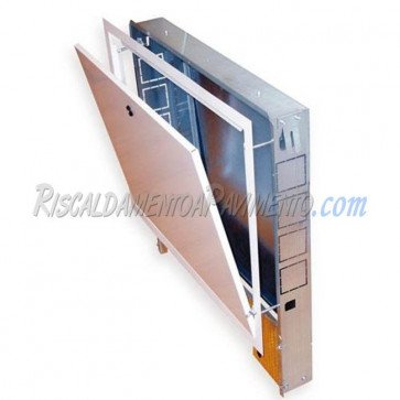 Cassetta per riscaldamento a pavimento larghezza 850 mm