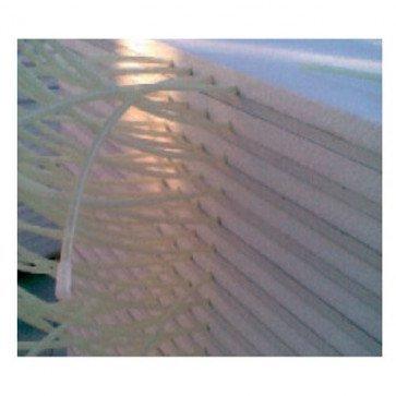 Pannello radiante 500x1200 mm in cartongesso per riscaldamento a parete ed a soffitto