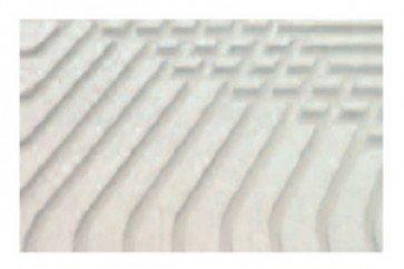 Pannello radiante 600x1200 mm h 32 mm speciale in fibrogesso per sistemi a secco