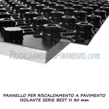 Pannello isolante serie best h 30 mm