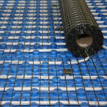 Rete antiritiro per massetto in fibra di vetro