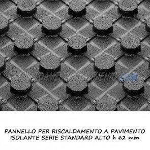 Pannello isolante serie standard alto h 62 mm