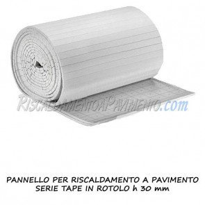 Pannello isolante serie Tape in rotolo H 30 mm
