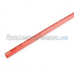 Tubo in polietilene Pe-Xa Rosso 17x2.0