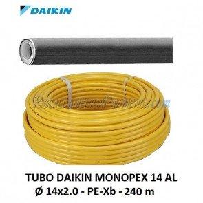 Tubo per Riscaldamento a Pavimento Daikin Monopex 14 AL - 14x2.0 - 240 m