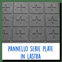 Pannello serie Plate in Lastra