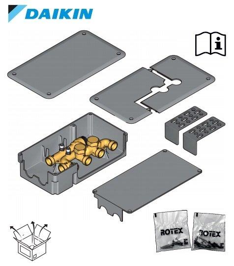 CONTENUTO CONFEZIONE BOX COMBI DAIKIN