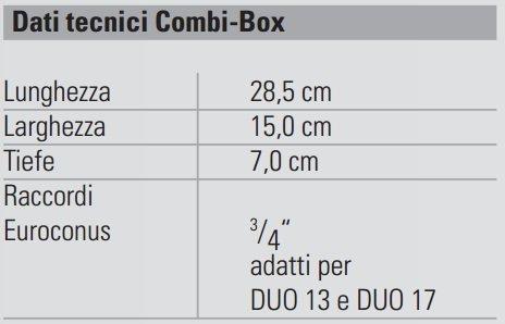 SCHEDA TECNICA BOX COMBI DAIKIN