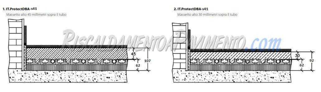 Stratigrafia Pannello Isolante Daikin Protect S41