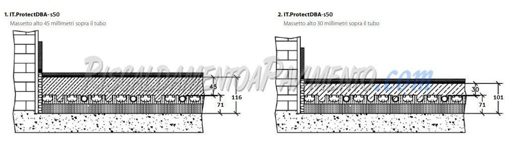 Stratigrafia Pannello Isolante Daikin Protect S50